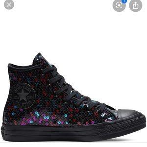 Sequin Converse Shoes